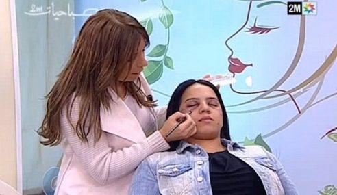 Stesen TV Minta Maaf Beri Tip Mekap Tutup Kesan Dera