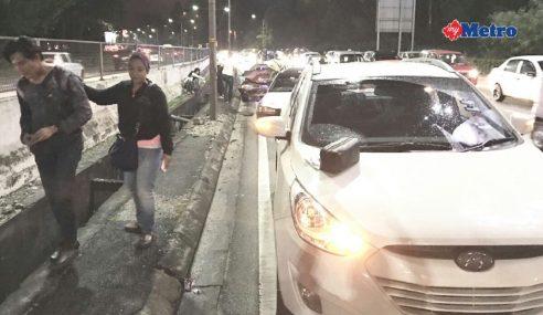Nazim Othman Kemalangan Di MRR2 Malam Tadi