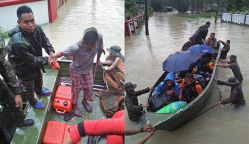 124 Mangsa Masih Di Pusat Pemindahan Di Kelantan