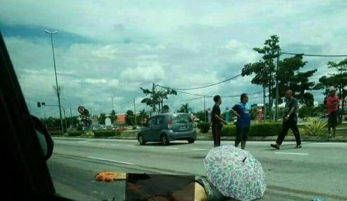 Pembantu Kedai Runcit Maut Digilis Lori Di Seri Iskandar