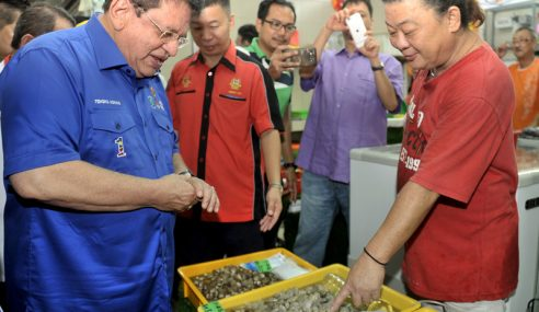 Pasar Basah Dinaik Taraf Kepada Premis Tertutup