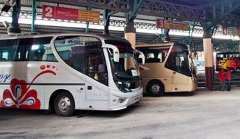 Pemandu Bas Ekspres Didenda RM8,000 Memandu Cuai