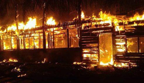 Lelaki Rentung Dalam Rumah Terbakar Di Beluran