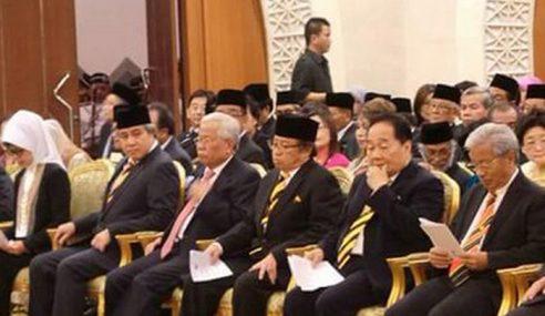 Kabinet Sarawak Angkat Sumpah Khamis Ini