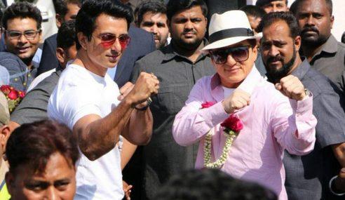 Jackie Chan Tiba Di Mumbai Promosi Filem 'Kung Fu Yoga'