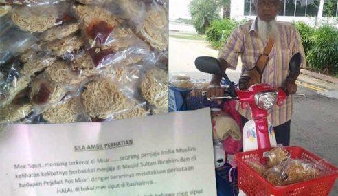 Kesian Pakcik Ni, Difitnah Jual Makanan Tak Halal