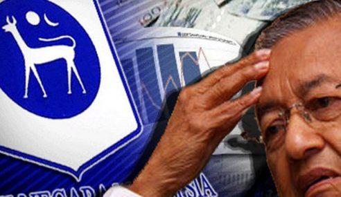 BNM Sahkan Berlaku Kerugian Sewaktu Mahathir Jadi PM