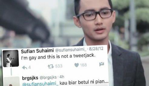 Tweet Sufian Mengaku 'Gay' Tular… Biar Betul?