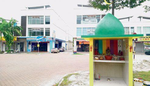 MPK Roboh Tokong Menyerupai Kubah Masjid