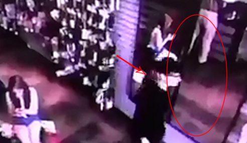 Video CCTV Ini Bukti Vampire Itu Wujud?