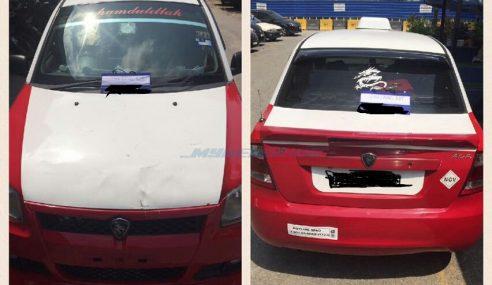 Pemandu Teksi 'Aktif' Samun Penumpang Ditahan