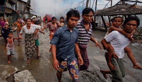 Zionis Dan Myanmar Sama Kejam