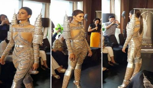 Miss Universe M'sia Bakal Gaya Busana Inspirasi KLCC