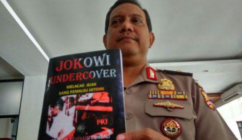 Polis Indonesia Siasat Buku 'Jokowi Undercover'