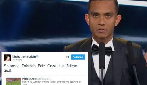 FIFA Puskas: Kejayaan Faiz Membanggakan – Khairy