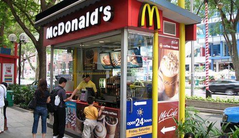 McDonald's Singapura Larang Kek 'Haram' Masuk Restoran