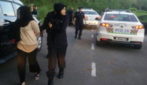 Polis Cari Pemandu Myvi Halang Laluan Kecemasan