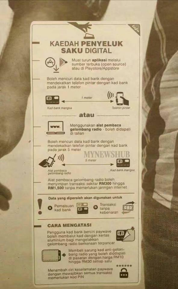 Laporan 'Penyeluk Saku Digital' Tidak Benar - BNM