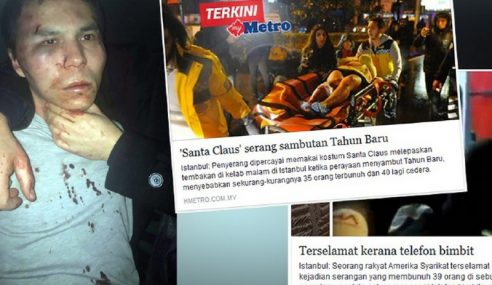 Penyerang Kelab Malam Istanbul Ditahan