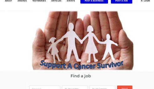 Portal Pertama Ditubuh Bantu Pesakit Kanser Peroleh Kerja