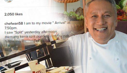 Chef Wan Kutuk Sikap Pemalas Segelintir Masyarakat