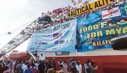 'Food Flotilla For Myanmar', Bukan Sekadar Bantuan