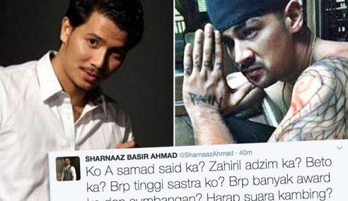 Sharnaaz Ahmad Sound Tepat Fattah Amin!