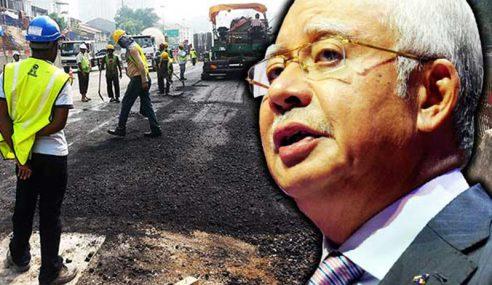 PM Umum Bina Jalan Guna Bahan Berasaskan Getah