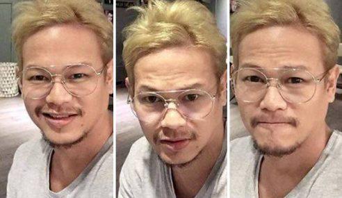 Que Haidar 'Dikecam' Sebab Warnakan Rambut Blonde