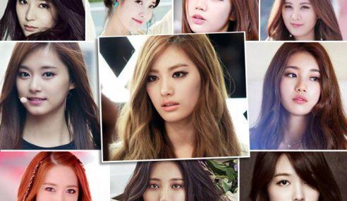 10 Selebriti K-Pop Wanita Paling Cantik 2016