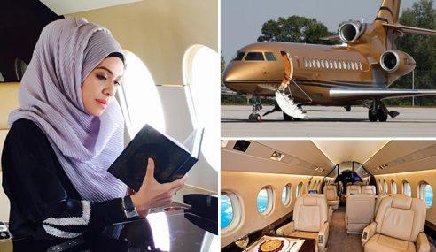 Wow! Belajar Ngaji Dalam Jet Mewah Bernilai RM93.4 Juta