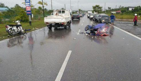 Seorang Maut, 2 Cedera Kemalangan 2 Motosikal