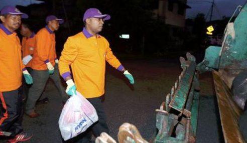 MB Perak Sertai MBI Kutip Sampah Awal Pagi