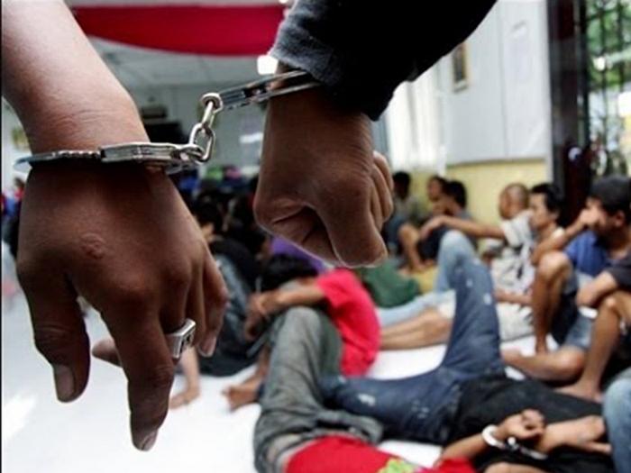 6 Ditahan, Dadah Bernilai RM54,000 Dirampas Di Maran