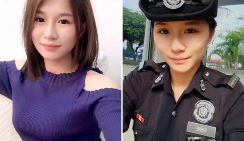 Polis Wanita Cantik Buat Lelaki Rela Ditangkap