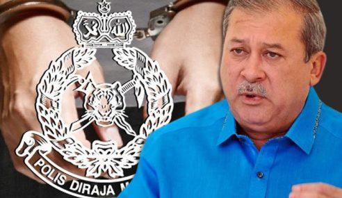 Polis Tahan Lelaki Keluar Kenyataan Hina Sultan Johor