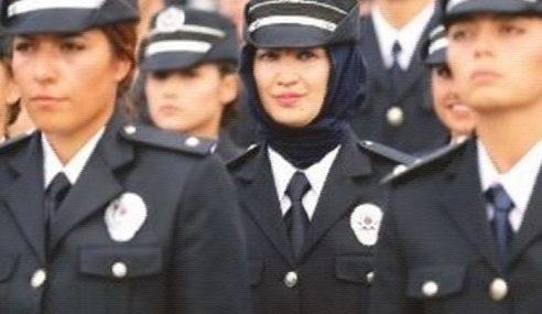 Turki Tarik Balik Larangan Hijab Tentera Wanita