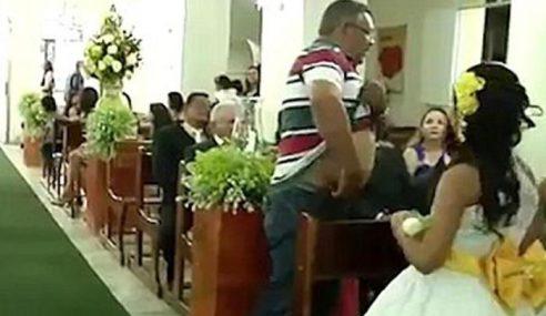 Lelaki Lepaskan Tembakan Di Majlis Kahwin