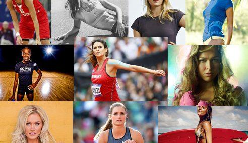 Atlet Wanita Paling Cantik Dalam Arena Sukan