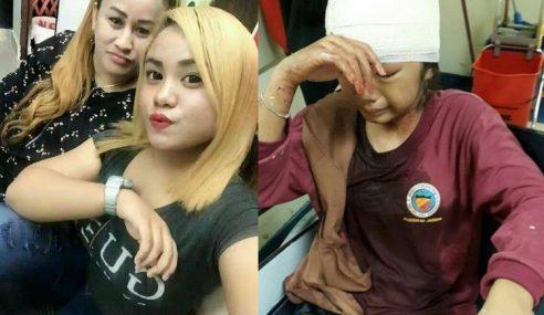 Pelajar 'Blonde' Nafi Pijak Kepala Mangsa