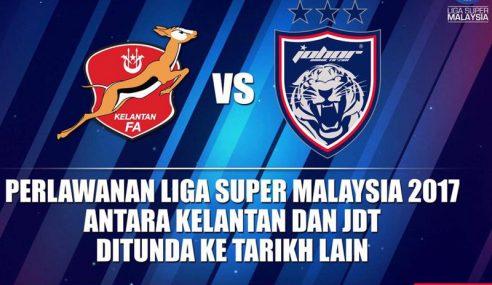 Penundaan JDT vs Kelantan Tidak Ikut Peraturan?