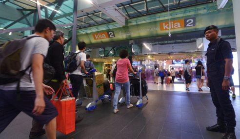 Cadang Had Transit Di KLIA, KLIA2 Selama 72 Jam