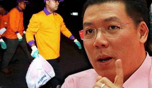 Exco Perak Selar DAP Persoal MB Perak Kutip Sampah