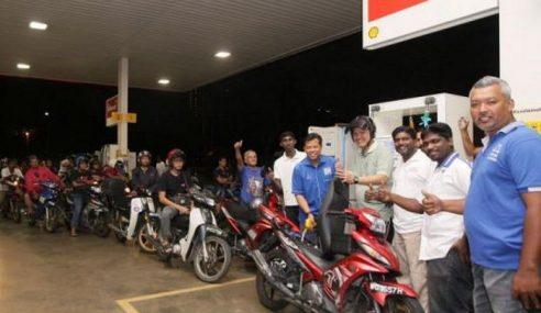Petrol Percuma Untuk Penunggang Motosikal W.P