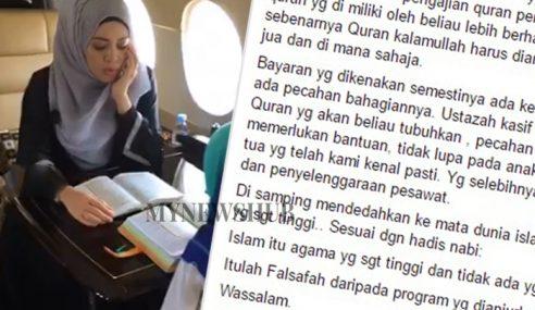 CEO Jet Peribadi Mewah Tampil Beri Penjelasan