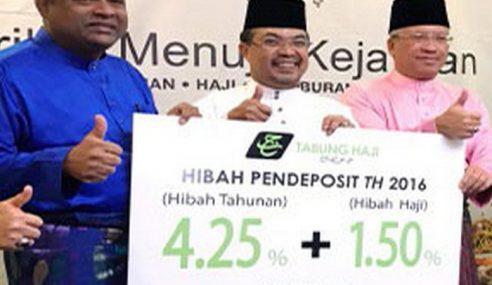Syukur Tabung Haji Umum Bonus 2016 Sebanyak 5.75%