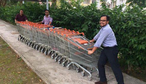 Kisah 4 Sahabat Pulangkan Troli Alamanda Putrajaya