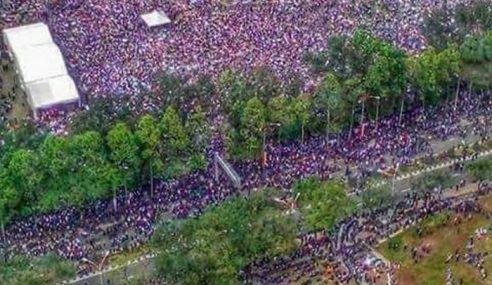 Lebih 20,000 Peserta Meriah Himpunan RUU 355