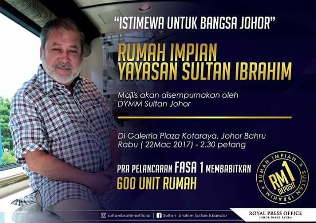 Ribuan Bangsa Johor Banjiri Galleria Kota Raya