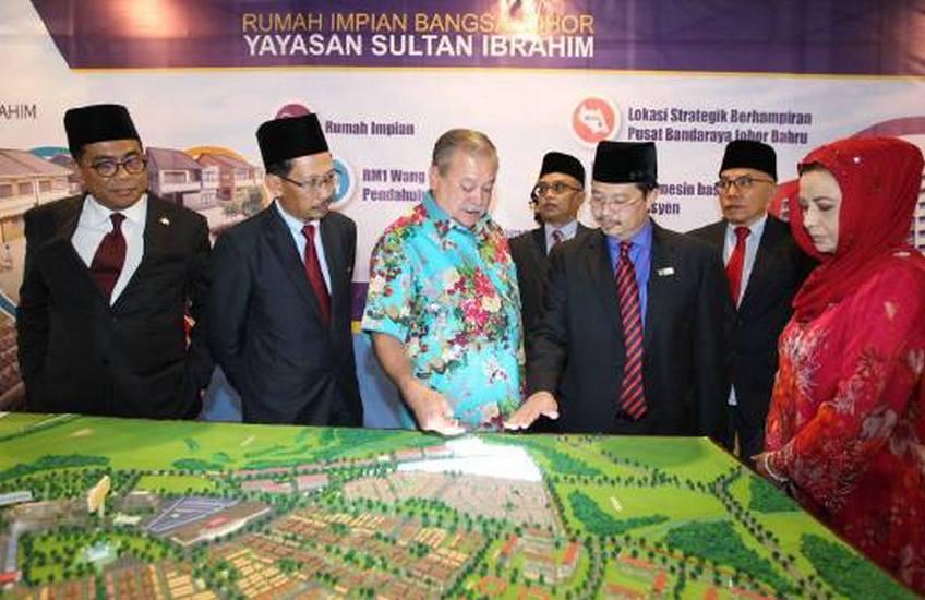 Rumah Impian Bangsa Johor 'Hadiah Sultan Johor'